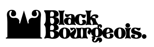 Logo design for clothing company Black Bourgeois. Website up next.