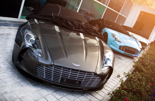 automotivated:  One-77 *3 (by Webb Cheung)