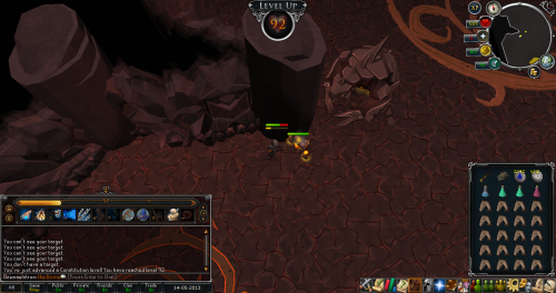 Just another couple of levels. Just need Hunter and Smithing to get 77+ :DDDD