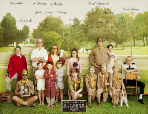 Moonrise Kingdom (2012) - Directed by Wes Anderson
