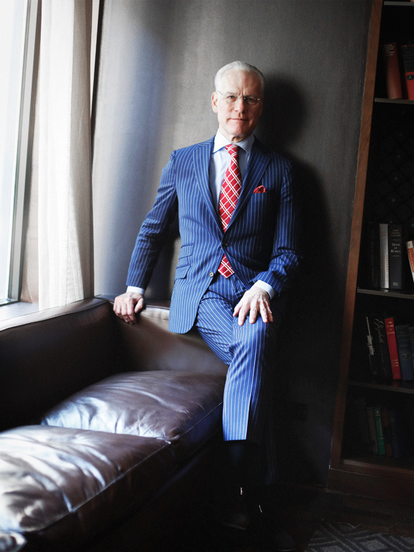 i had lunch with Tim Gunn last weekend - © brian sorg