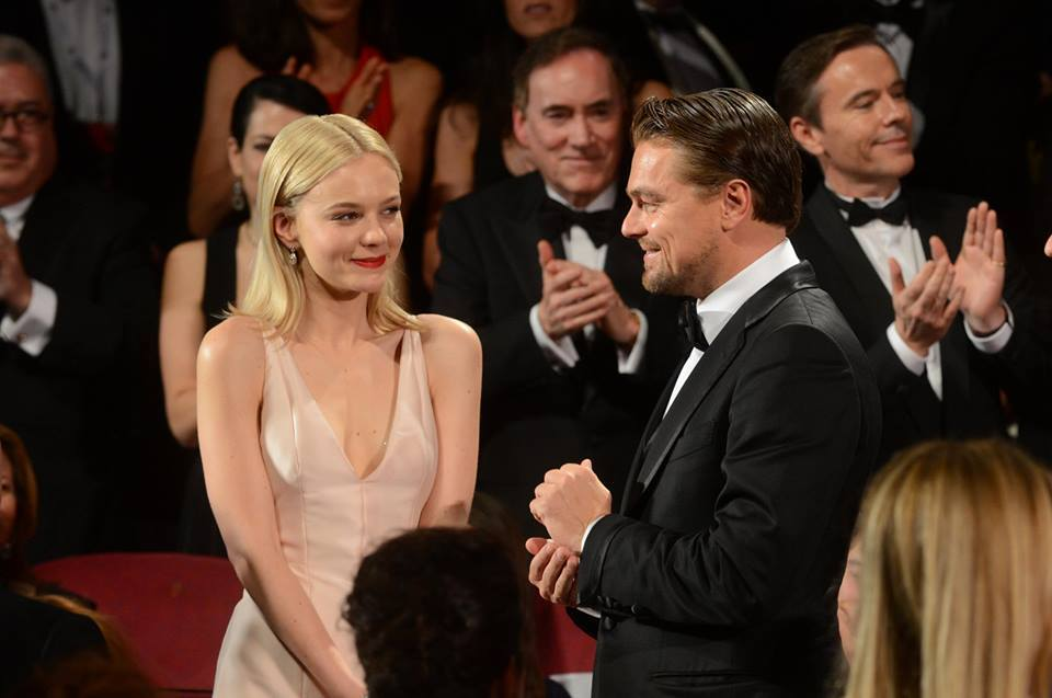 satiricon:  Carey Mulligan and Leonardo DiCaprio at the 66th Festival de Cannes.