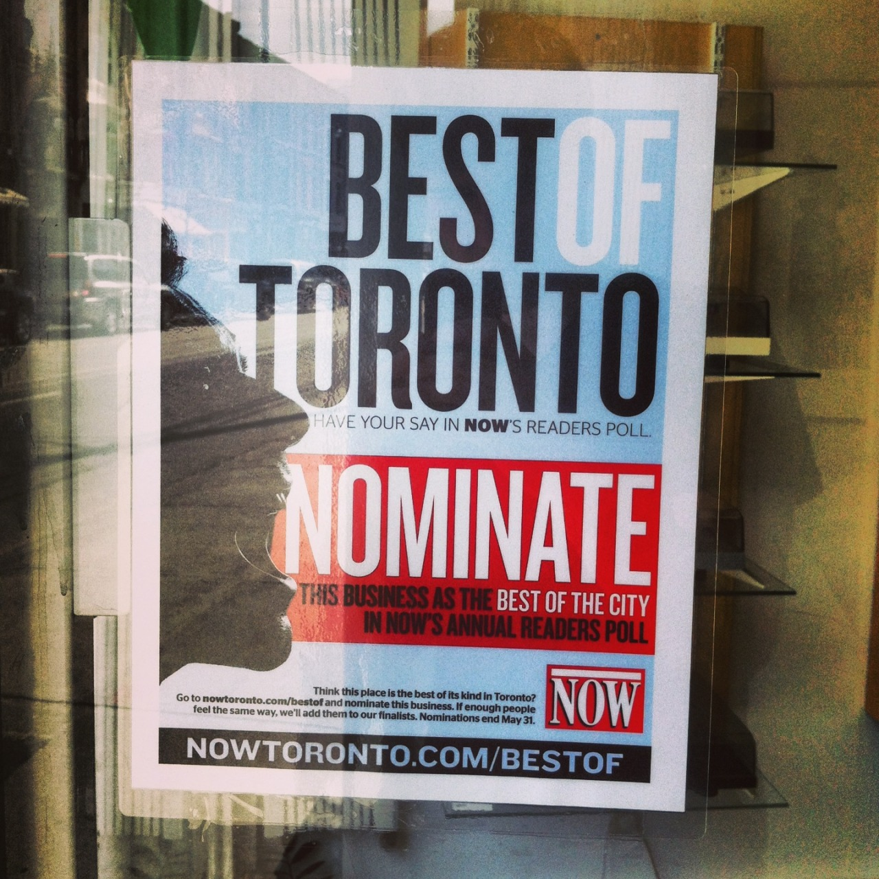 Help nominate Planet of Sound for NOW Magazine's Best of Toronto readers poll!Click here!