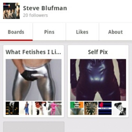 This social bunny is now on PINTEREST, simply search SteveBLUF and you'll follow me #leatherpride #gearfetish #gayfetish #pinterest #instagay #gayskintight #gayrubber #gayleather