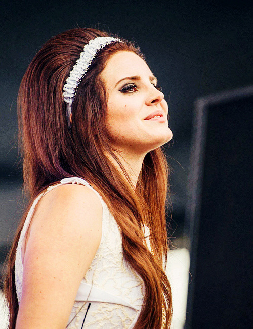 missdontcare-x:  Lana Del Rey being all perfect at the Eurockeennes Music Festvial in France.