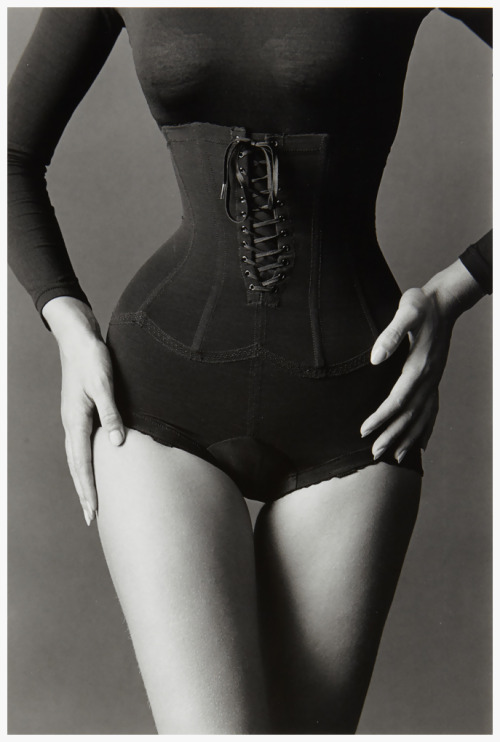 the60sbazaar:  Corset by Jeanloup Sieff (1962)
