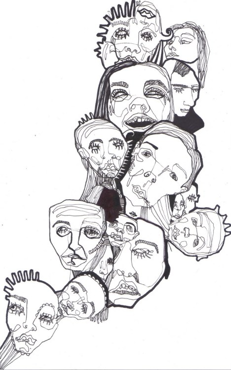 #illustration #faces #drawing #art