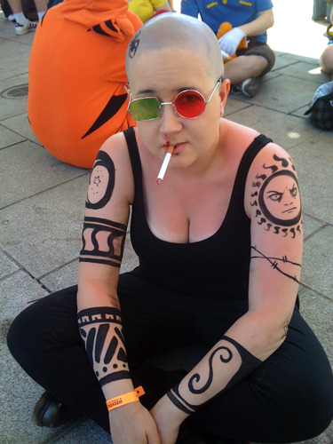 creativeconflagration:  Cosplay Island: Spider Jerusalem