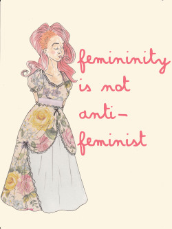 congratulations-its-me:  I drew this a couple of months ago for a feminist fairy-tales thing we were doing at riveters I was really inspired by Albinwonderland's patch (and by her amazing look)