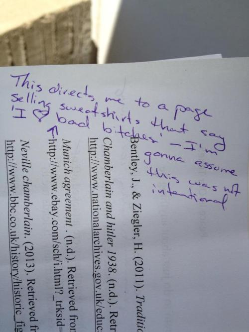 "pleatedjeans:  ""accidental"" wrong link on a final research paper. via"