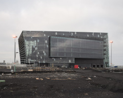 Harpa, by Henning Larsen Architects in collaboration with Batteríið Architects and Olafur Eliasson, wins the Mies van der Rohe Award 2013. A pretty damn spectacular building.