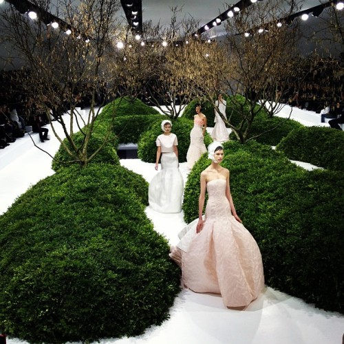 businessoffashion:  Gorgeous gorgeous @Dior couture  (at Place de la Concorde)