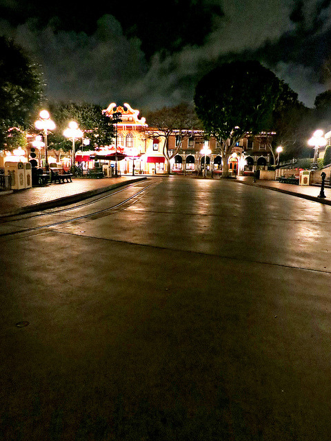 mydisneyadventures:  After Closing Main Street USA on Flickr.