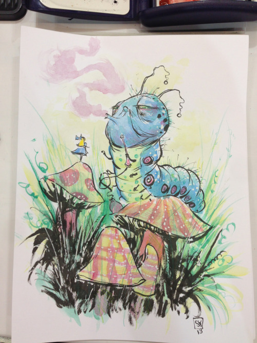 Alice in Wonderland #eccc