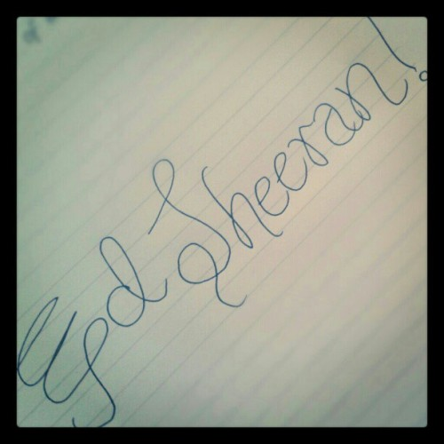 #EdSheeran give me love