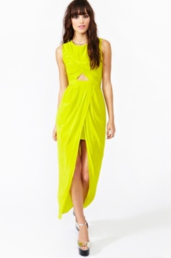 fashionfever:  Ibiza Silk Wrap Dress