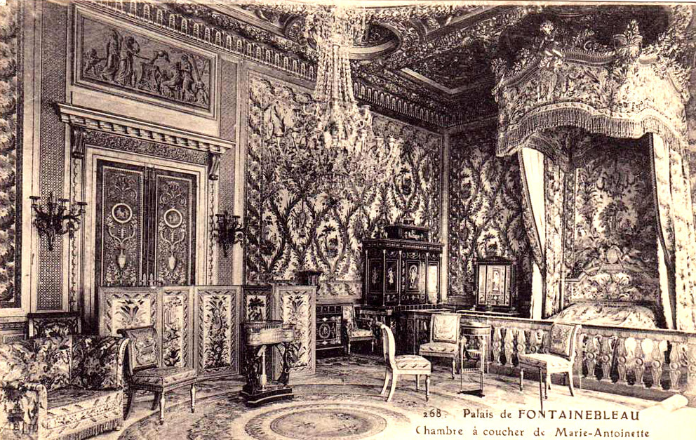 Inside Marie-Antoinette's Bedroom, Fontainebleau