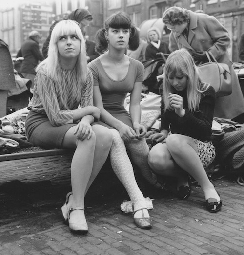 the60sbazaar:   Teens in Amsterdam c.1966