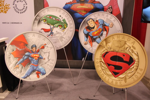 New Canadian Superman Coins Revealed at Fan Expo