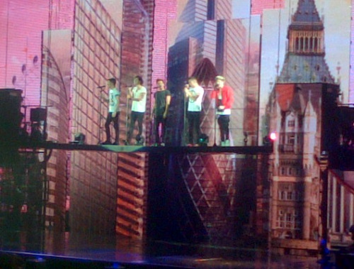 One Direction @ Manchester Arena 16th March
