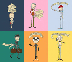 Wes Anderson's Bill Murray* by Derek Eads *Updated December 2012