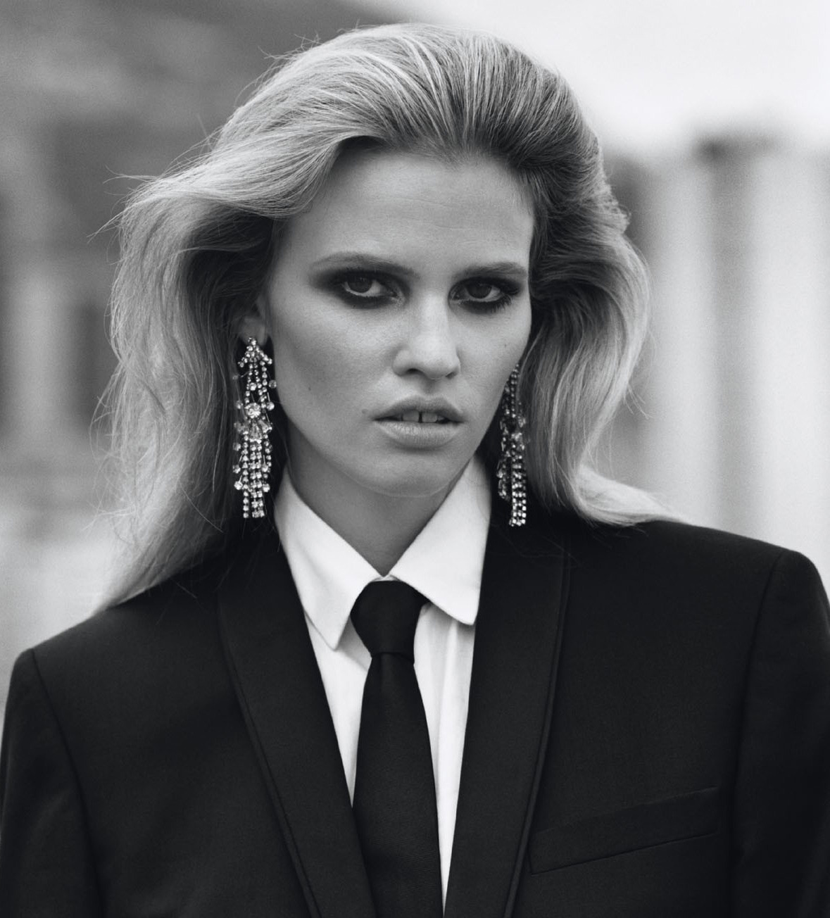 bohemea:  Lara Stone - Self Service #37 by Alasdair McLellan, Autumn/Winter 2012