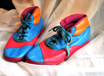 mascotboy:  (via Vintage Avia Multcolor 1980s Sneakers Breakdance by drowsySwords)