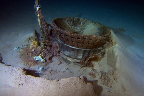 wired:  After lying on the ocean floor for more than 40 years, two Apollo rocket engines that helped deliver astronauts to the moon are once again seeing the light of day…