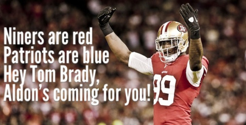 Can't wait!!  #Niners #BeatThePatriots