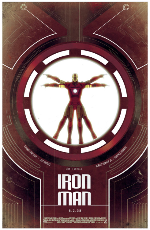 rreik:  Geek Art Gallery: Posters: Iron Man Trilogy