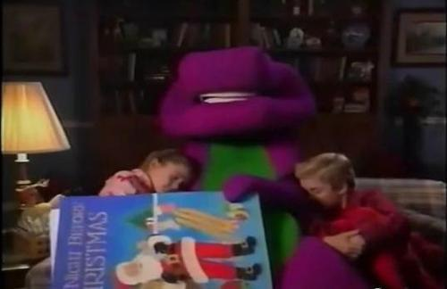 barney-waiting-for-santa-part-1 Images - Frompo - 1