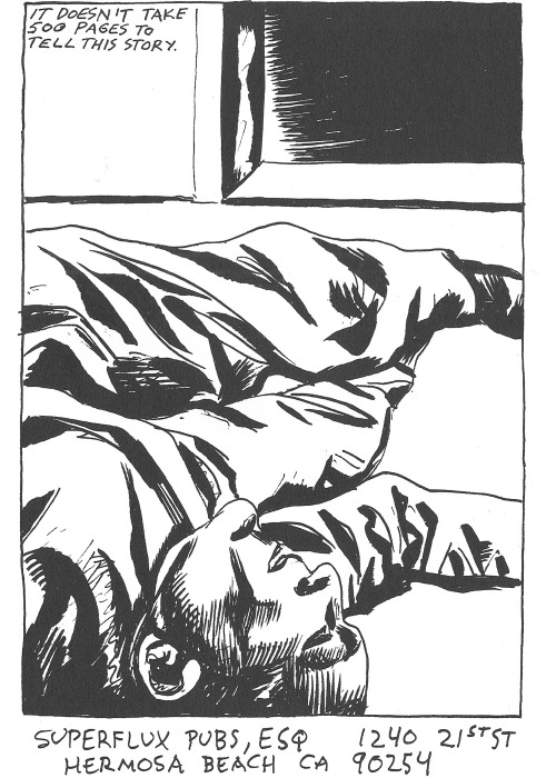 "zombiesenelghetto:  Raymond Pettibon, ""Voices For The Self"", SST Pubs, 1986"