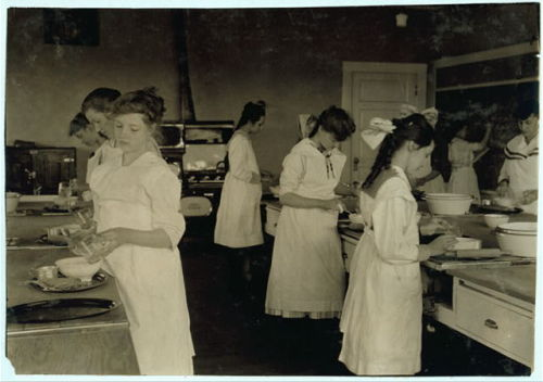 Home economics, an earlier time.