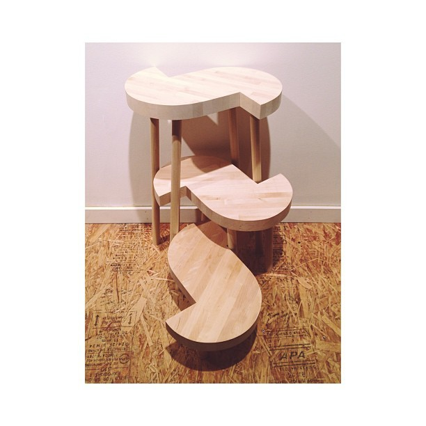 Rason Jens Nesting S's | stool, chair & table 2013