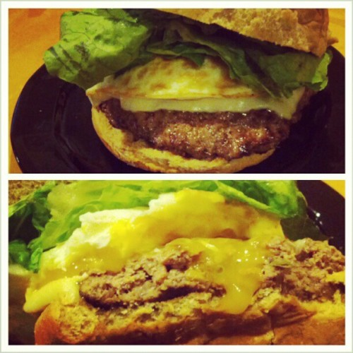 prsun2:  Dinner #homemade #burger #chefstatus #yummy #instafood  (at Home Away From Home)