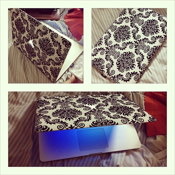 I #love my #new #laptop #skin hehe