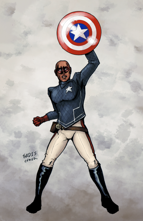 tardiscrash:  Eli Bradley: Patriot Commission for bigecho