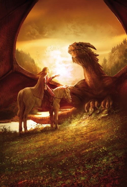 the-clockmakers-daughter:  spirit-of-avalon:  Prince dragon by MarcSimonetti  ༺ Can You Handle a Twisted Fairy Tale? ༻