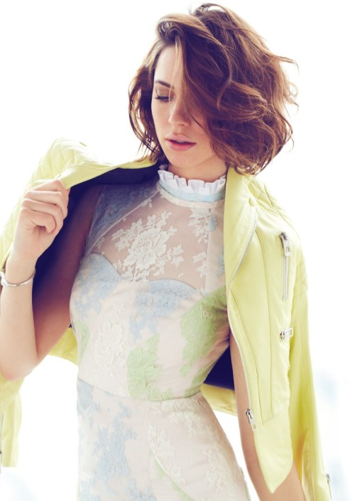 Elle Canada, June 2013 (+) photographer: Max Abadian Rebecca Hall