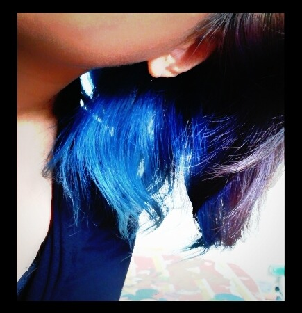 Blue hair strikes again!!!!