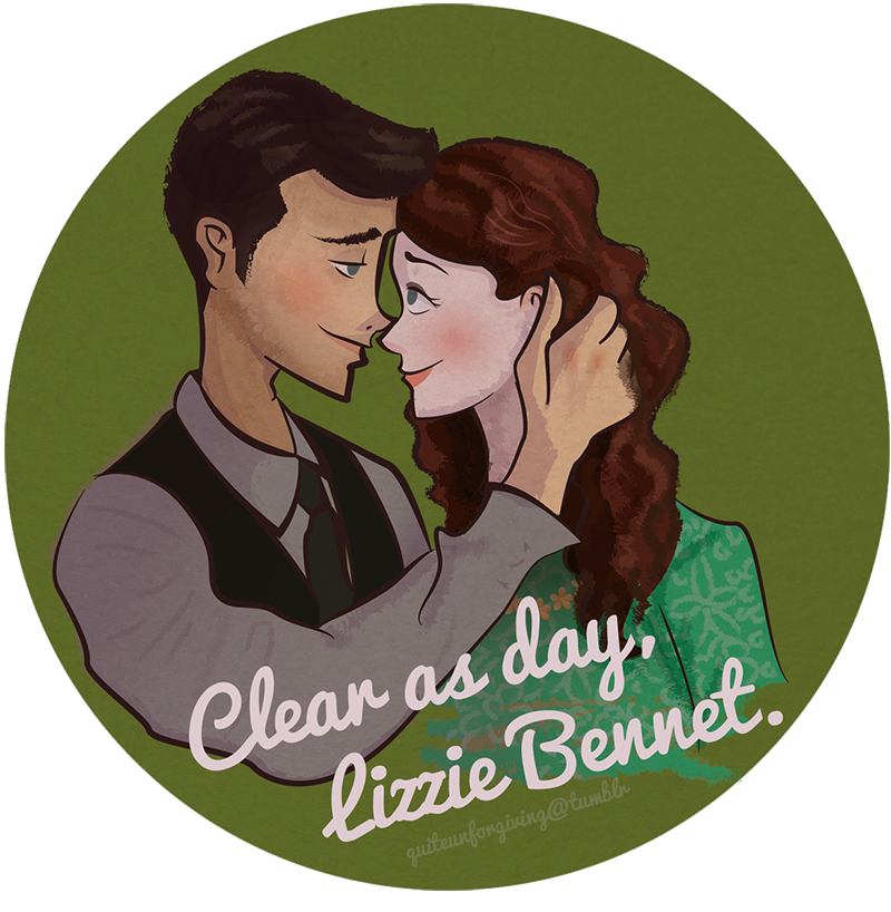 Clear as day, Lizzie Bennet.