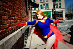comiccombatant:  My favorite picture from my Supergirl photoshoot.