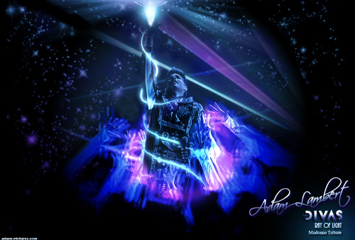 'Ray of Light' Madonna Tribute - this is the last creation in my series of VH1 Divas wallpapers/collage edits of Adam Lambert's performances during the show Sunday, December 16, 2012. Photo credit to http://adam-pictures.com Thank you! Click image to open full size. I love you so very much Adam! :) <3