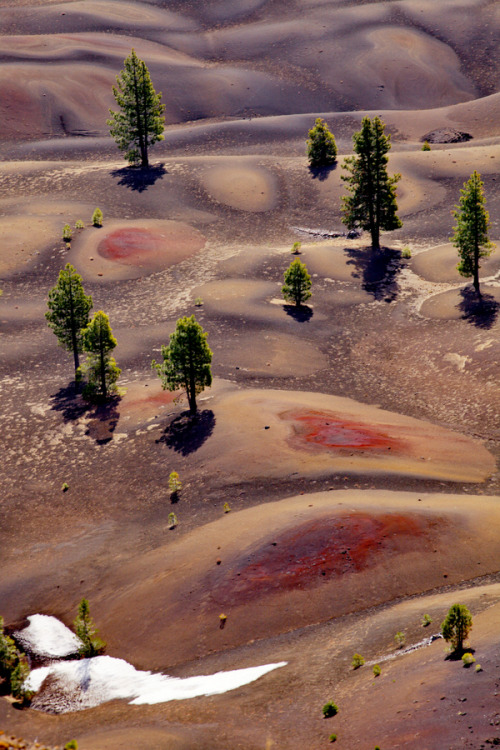 Painted Dunes, Lassen Volcanic National Park, California | USA by Jacky CW