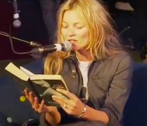 KATE MOSS TURNS 50 SHADES OF BEET REDby Parry Ernsberger http://bit.ly/13XNzs0