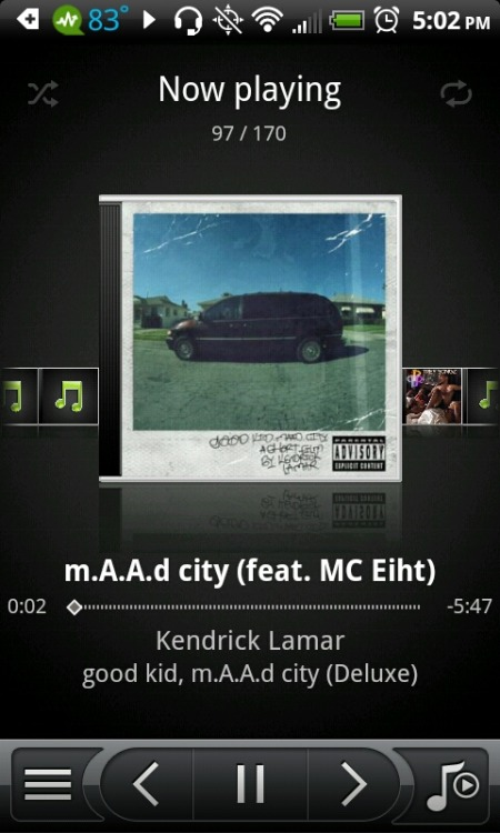 Kendrick Lamar x M.a.a.d City ♥ – View on Path.