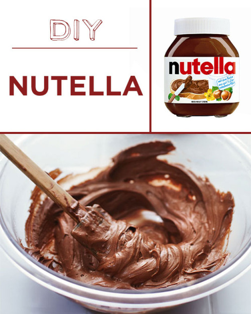 buzzfeed:  BREAKING: you can make your own Nutella.