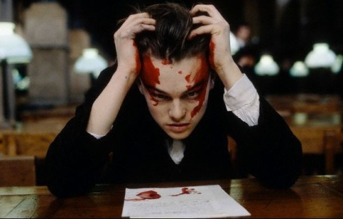 "vagabondbohemia: "" Leonardo DiCaprio as Arthur Rimbaud in Total Eclipse, which is a 1995 film directed by Agnieszka Holland, based on a 1967 play by Christopher Hampton, who also wrote the screenplay. """