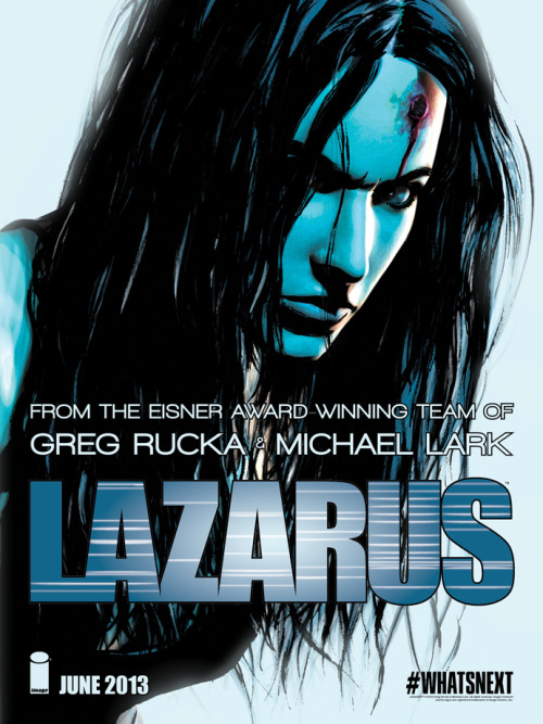 LAZARUS promotion!  Coming in June! Pre-order!