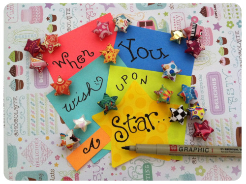 a-thousand-paper-stars:  Say it with Post-Its.